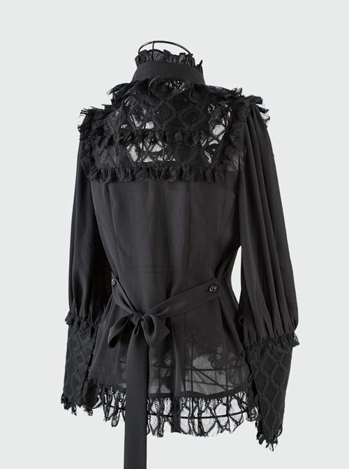 Magic Tea Party *Little Ada's Flowers* Series Sweet Lolita Long Sleeve Shirt