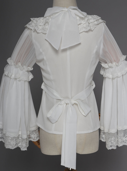 Magic Tea Party Swimming Fish Play Dream Series Classic Lolita Long Sleeve Shirt