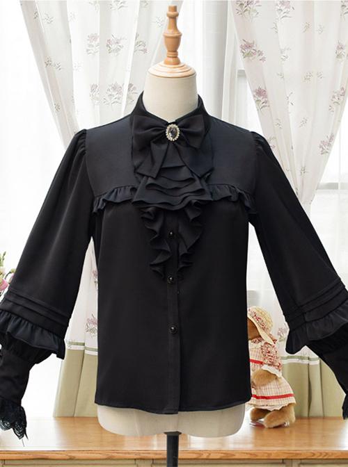 Sonata Series Elegant Classic Lolita Long Sleeve Shirt