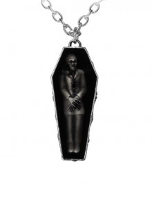 Punk Gothic Retro Zombie's Rest Pendant Necklace