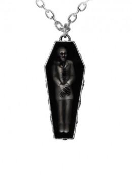 Punk Gothic Retro Zombie's Rest Pendant Necklace