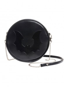 Punk Gothic Retro Black Bat Black Single Shoulder Bag
