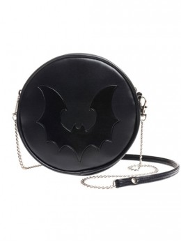 Punk Gothic Retro Black Bat Black Single Shoulder Bag