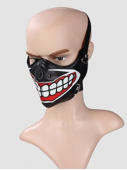 Punk Clown's Toothy Smile Unisex Mask