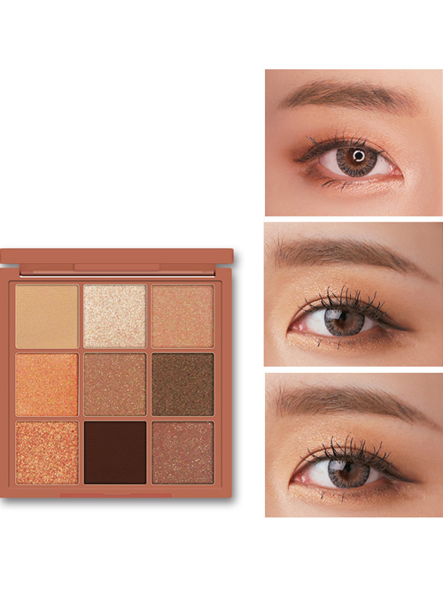 3CE EUNHYE HOUSE Charm Colorful Eyeshadow Autumn Winter Series 9 Colors Eyeshadow Palette