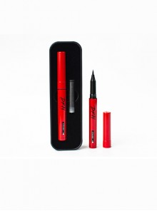 Thai DFN Smooth And Easy To Dry Red Tube Eyeliner