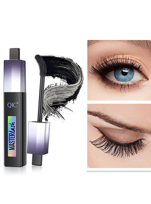 QIC Brush Head 4D Wide-angle Rotation Waterproof Mascara