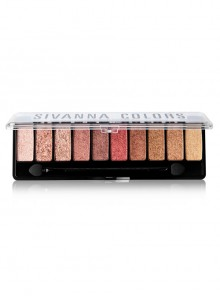 SIVANNA Luxury Velvet Pearlescent Ten colors Eyeshadow Palette
