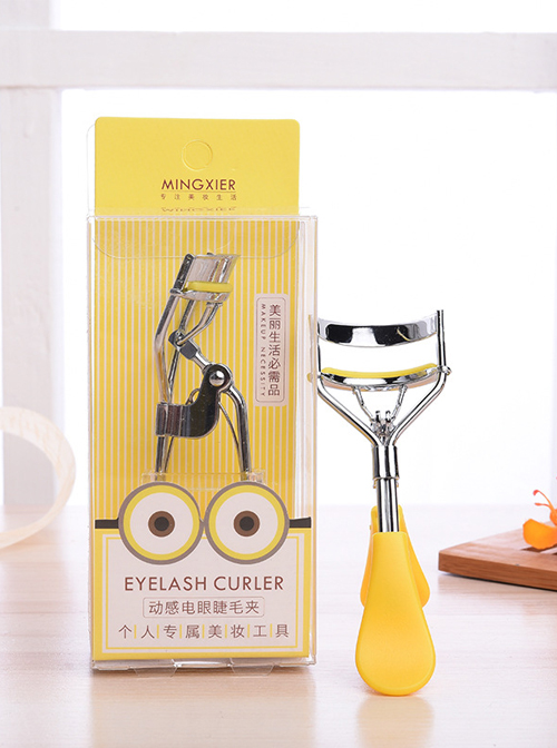 Beauty Tools Pink Or Yellow Wide-angle Eyelash Curler
