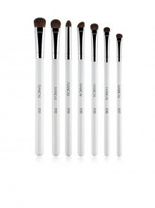 7 Cosmetic Brushes Pony Hair Eyeshadow Brushes Set Full Eye Makeup Set