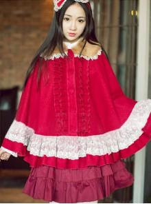 Princess Faith Princess Sweet Wool Lolita Cape