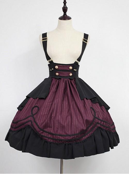 Lolita High Waist  Dress - Morningstar Idol Academy by Souffle Song