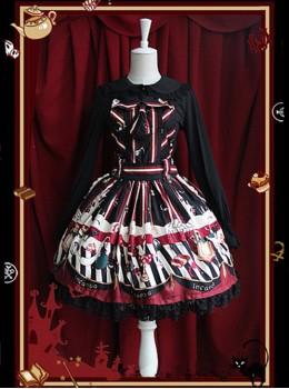Halloween's Night Dark Magic Party Dress