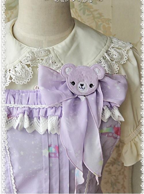 Sleeping Bear Sweet Style Side pockets JSK - by Infanta