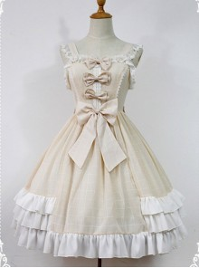 Macaroon Colored Sweet Lolita Dress