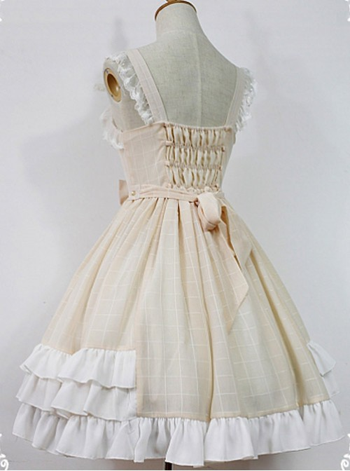 Macaroon Colored Sweet Lolita Dress