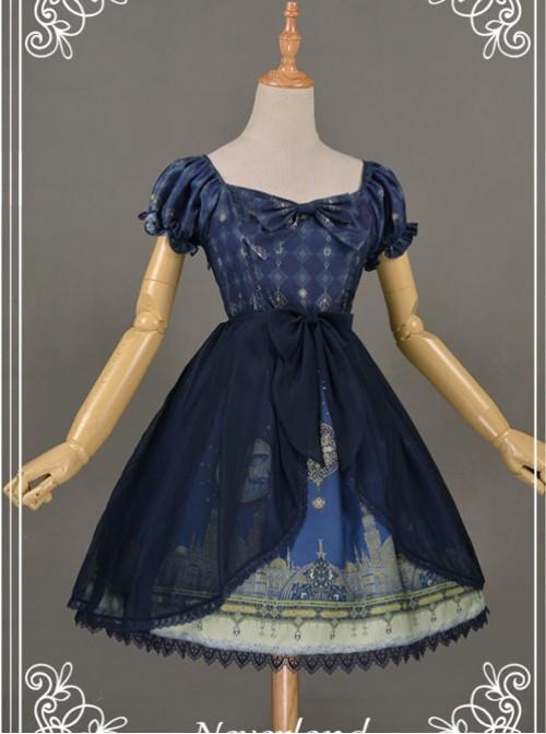 Neverland Lolita Chiffon Overskirt