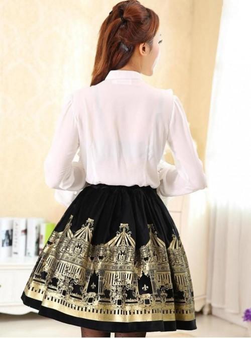 Dream of Lolita,Rotating Amusement Park, Velvet Lolita Skirt
