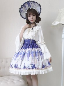 Neverland Lolita,Elector,Sweet Lolita Normal Waist Skirt