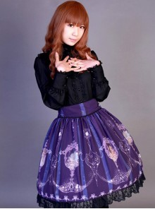 Neverland Lolita,La Pucelle and Pigeon,High Waist Lolita Skirt