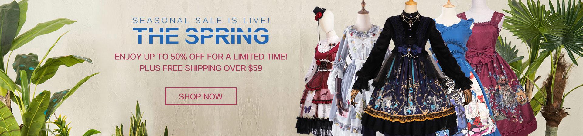 Seasonal Sale Is Live