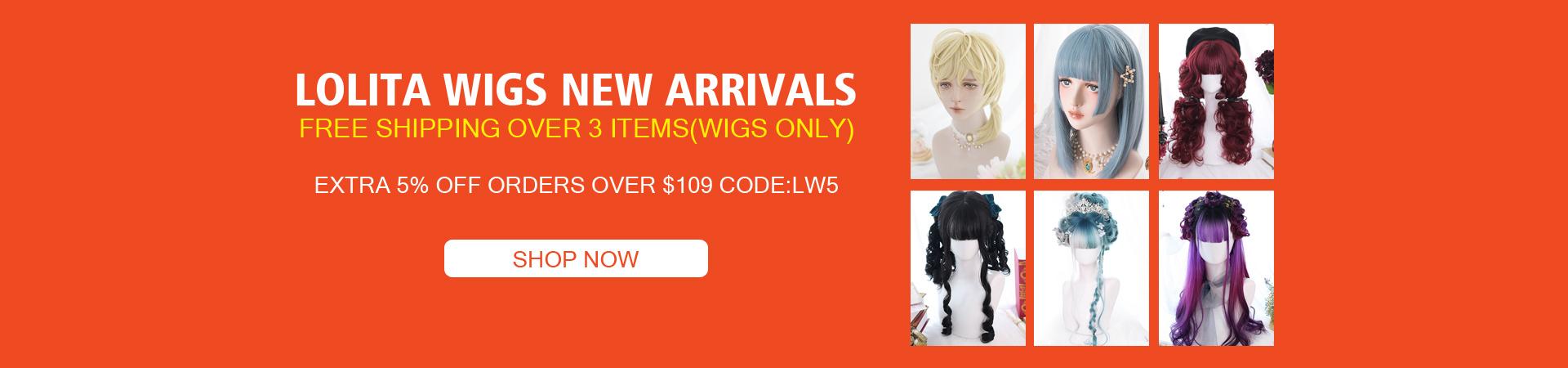 Lolita Wigs New Arrivals