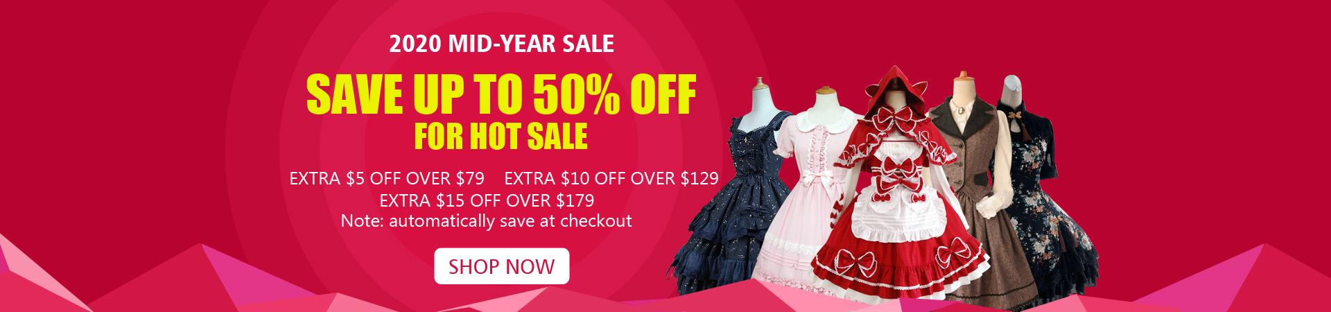 Lolita Dresses Mid-Year Sale