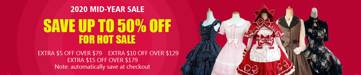 Lolita Dresses Mid-Year Sale