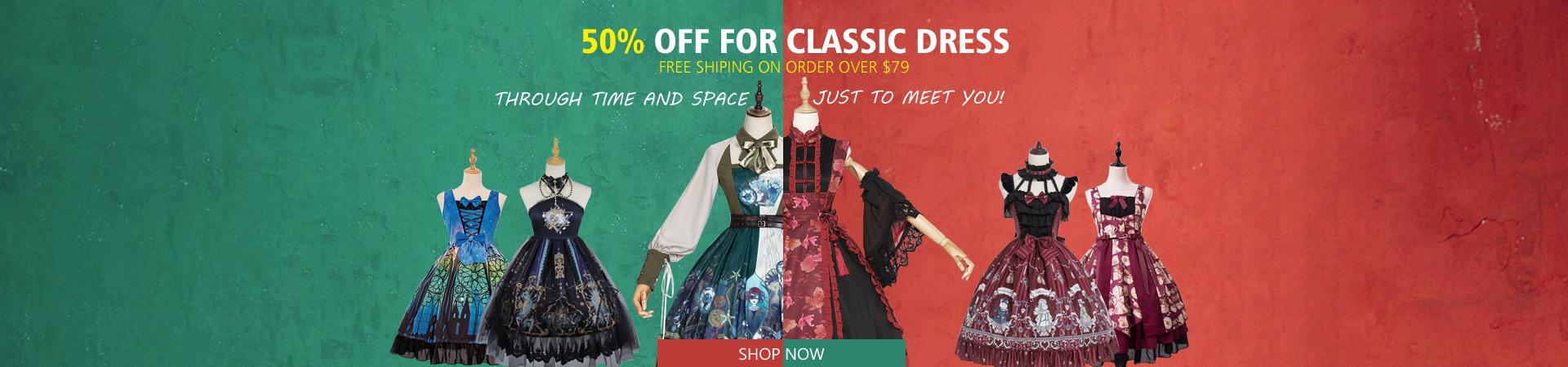 CLASSIC DRESSES SALE