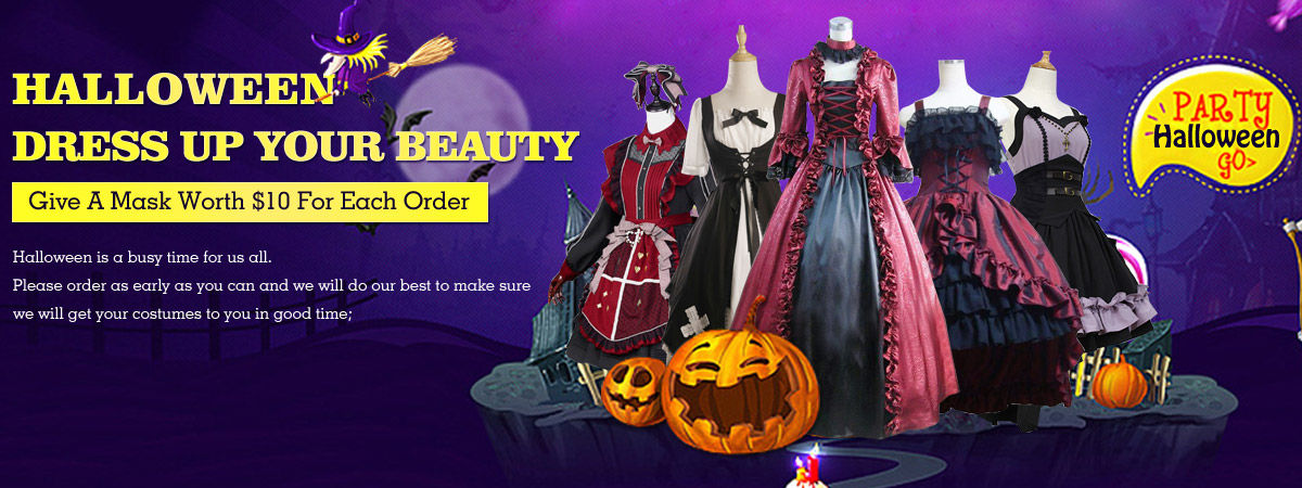 Halloween Dress Up Your Beauty 2018