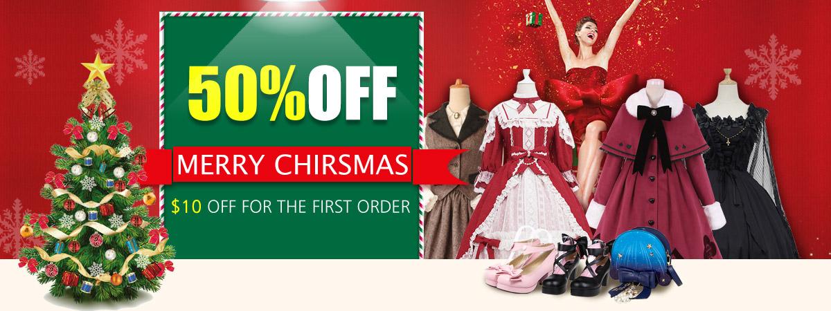 Best Christmas Sales - Enjoy 50% OFF